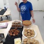 Juurekset leivonnassa kurssilla vuonna 2019